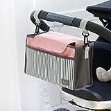 DMH mochila pañales impermeable Carro de bebé, bolsa, bolsa de almacenamiento-Rosa