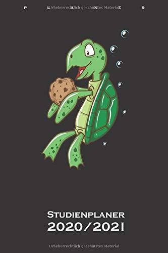 Cookie Schildkröte Studienplaner 2020/21: Semesterplaner (Studentenkalender) für Naschkatzen und Keksliebhaber