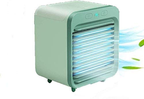 N\A Enfriador de pantano Recargable refrigerado por Agua 2019, Enfriador de Aire refrigerado por Agua portátil, Ventilador de Escritorio para el hogar, la Oficina, el Dormitorio