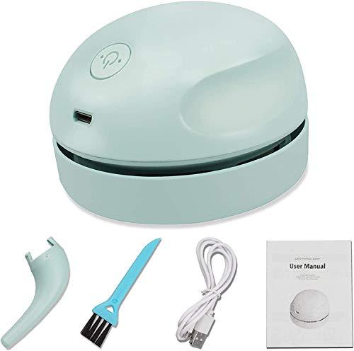 卓上掃除機 ミニクリーナー そうじ機 USB充電式 デスクトップ掃除 静音 除塵 紙屑 粉ミルク鉛筆削り ゴミ テーブル キーボード 椅子などに使用可能 (A型)
