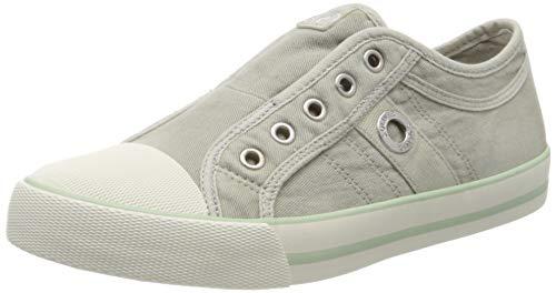 s.Oliver Damen 5-5-24635-24 Slip On Sneaker, Grün (Lt Green 717), 38 EU