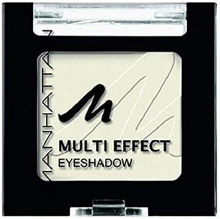 Manhattan Multi Effect Eyeshadow – biały, matowy cień do powiek w poręcznej puszce, intensywne kolory i długotrwałe – farb...