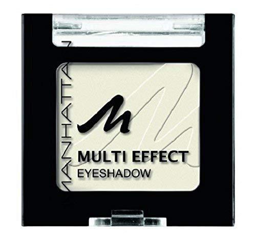 Manhattan Multi Effect Eyeshadow – Weißer, matter Lidschatten in handlicher Dose, farbintensiv und langanhaltend – Farbe Ice Eyes Baby 101C – 1 x 2g