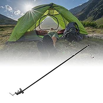 Jiawu Support de Lanterne de Camping, hauteurs réglables, poteaux Suspendus légers de Camping, Portable Pliable, Pratique pour Les activités de Plein air pour pêche