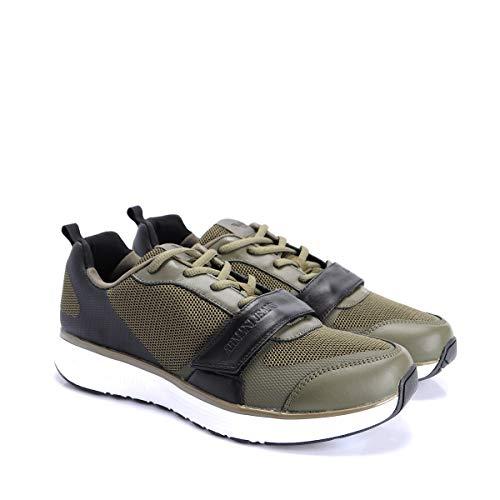 Armani Jeans Sneaker - C6503 38-44(EU) - 9.5 UK(EU) - Groen