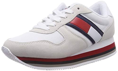 Hilfiger Denim Damen Retro Tommy Jeans Sneaker, Blau (Ice 101), 40 EU