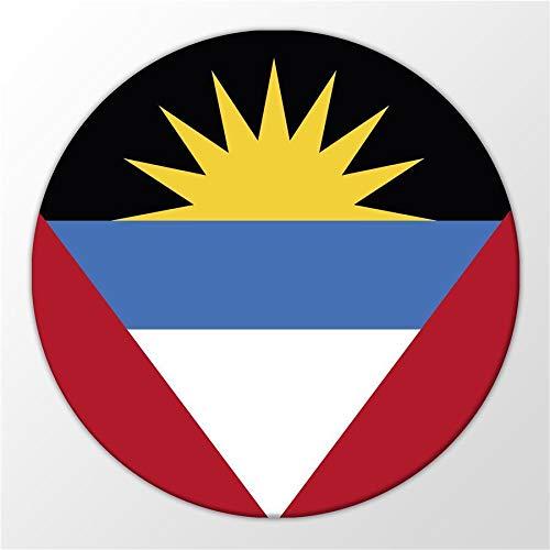 Kühlschrank Magnet Antigua & Barbuda Flagge Karibik Magnettafel Whiteboard