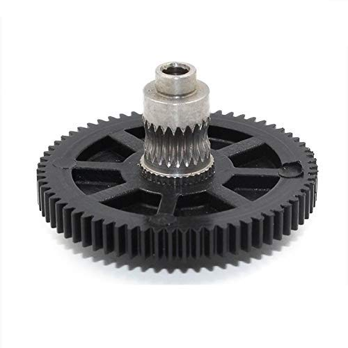 For Titan Extruder New Metal Gear 66 Tooth Hobb Stainless Steel Reprap MK8 Pruse I3 3D printer 3D Printer Parts