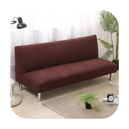 Funda de sofá moderna, a rayas geometría ajustada, elástica para I en forma de sofá, funda de sofá antideslizante, sin reposabrazos.