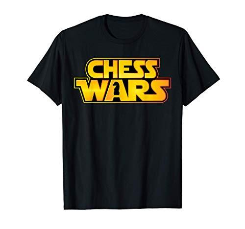 Regalo para jugador de ajedrez - Chess Wars Knight Camiseta