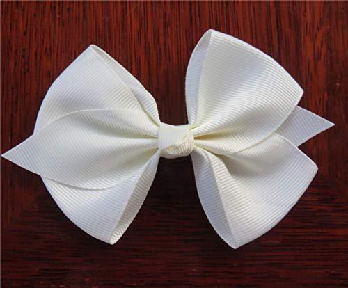 Mingi 1 STÜCKE Band Bogen Clip Elastische Haarbänder Für Mädchen Haarnadeln Haargummi Kinder Haarschmuck Für Frauen, Farbe 21, KEIN Clip Nur Bogen
