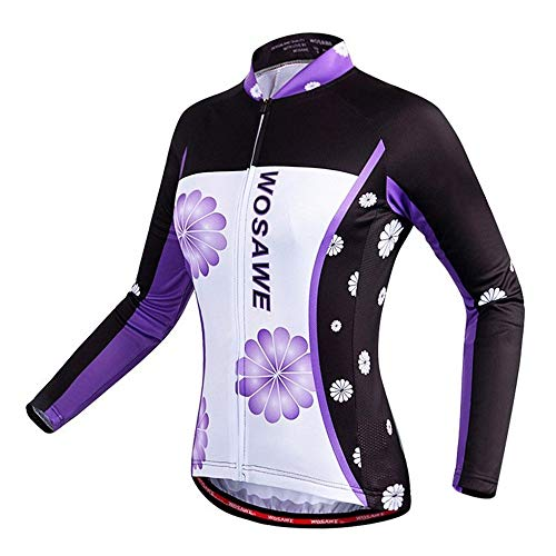 Be82aene Camisa de Manga Larga for Mujer de Verano Bicicleta de Secado...