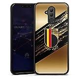 Coque en Silicone Compatible avec Huawei Mate 20 Lite Étui Silicone Coque Souple Football Diables...