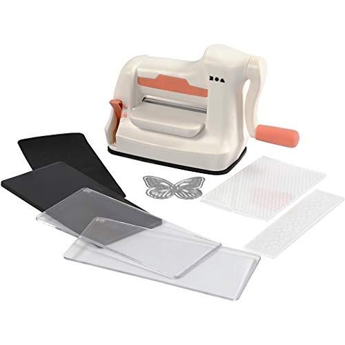 Machine à couper et à embosser - kit de démarrage, A7 7,4x10,5 cm, feuille max 7,5 cm en largeur, 1set