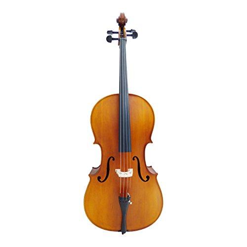 Allegra by Acandoo VC305 Cello 4/4 Fichte/Ahorn Carbonbogen, stabile Tasche/GigBag