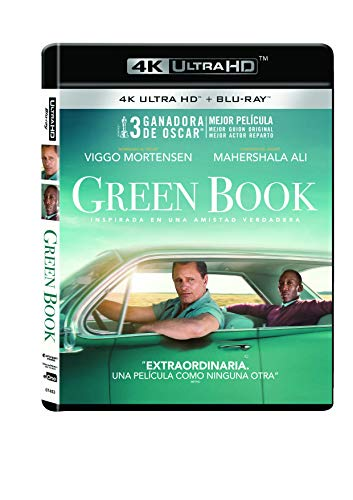 Green Book Blu-Ray Uhd 4k [Blu-ray]