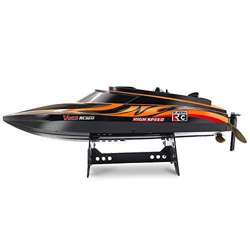 ACOC Ferngesteuerte Boote, RC Boot, Motorboot Ferngesteuert Mit,30Km/H High Speed Boot Mit Funkfernsteuerung, Batteriebetrieben, Spielzeug Für Kinder, Das Boot Für Pools Und Seen