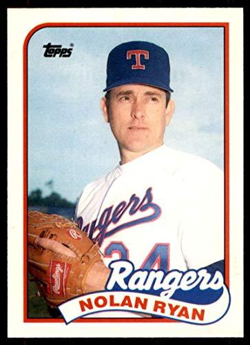 Baseball MLB 1989 Topps Traded #106 Nolan Ryan Rangers