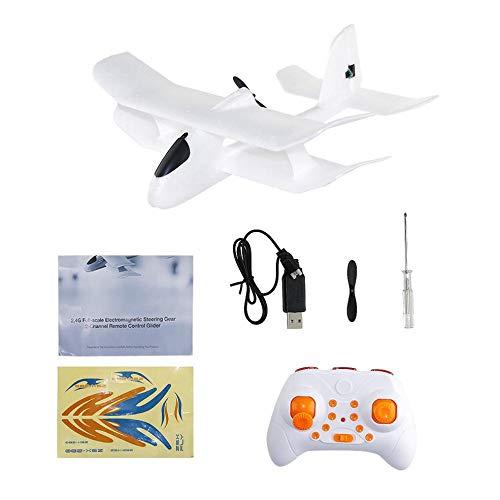 Spanwijdte EPP elektromagneet Servo Indoor dubbeldekker zeilvliegtuig RC vliegtuig ZSX-280