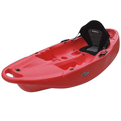 Devessport – Kayak Purity 2 | Kayak per 1 persona, tipo sito on Top – autosvuotabile | con ruota di trasporto | Peso massimo 133 kg