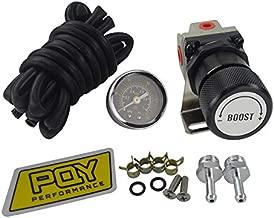 MeterMall General Adjustable Manual Gauge Turbo Boost Controller 1-150 psi SR20DET black