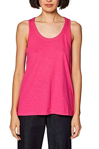 ESPRIT Damen 039EE1K006 Top, Rosa (Pink Fuchsia 4 663), Small (Herstellergröße: S)