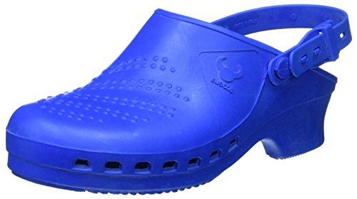 Suecos® Balder - Zueco autoclavable (esterilizable), Azul Azul (Blue), 40/41 EU