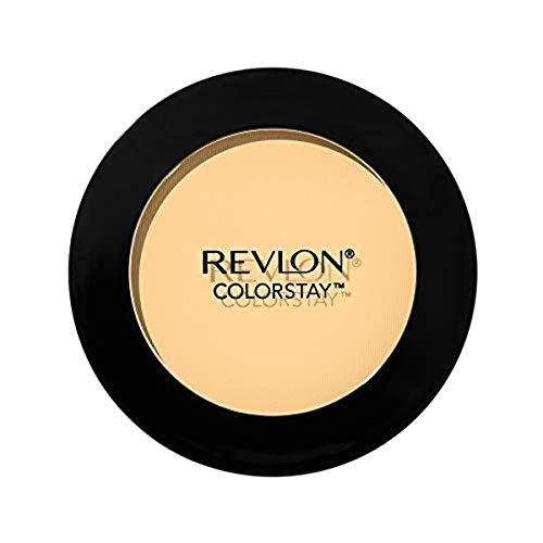 Revlon ColorStay Pressed Powder, Longwearing Oil Free, Fragrance Free, Noncomedogenic Face Makeup, Banana (100)