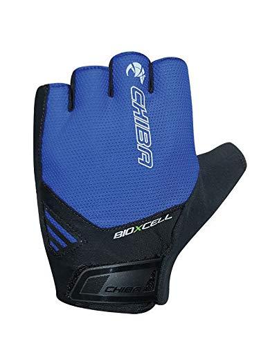 Chiba BioXCell Air Fahrrad Handschuhe kurz blau/schwarz 2021: Größe: XL (10)