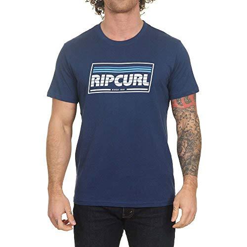 Rip Curl Heren T Shirt Yo Mama S/S Tee Indigo S