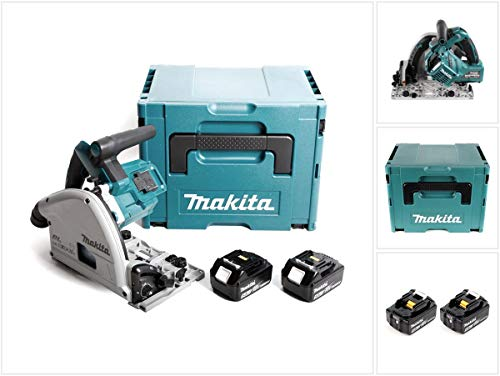 Makita DSP 600 TJ Akku Tauchsäge 36V (2x18V) Brushless + 2x Akku 5,0Ah + Makpac - ohne Ladegerät