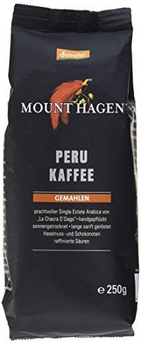 Mount Hagen Bio-Röstkaffee Peru gemahlen, demeter (2er Pack) (2 x 250 g)