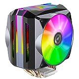 Jonsbo CR-1100 ARGB 2x 120 Millimeter Cpu Kühler RGB PC Fan für Intel und AMD CPUs Kühlung Effiziente Prozessoren Stylisches Design