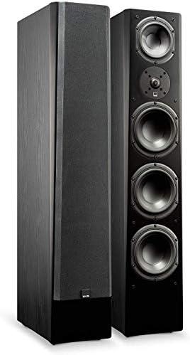 SVS Prime Pinnacle 3 Way Tower Speaker Single Premium Black Ash product image
