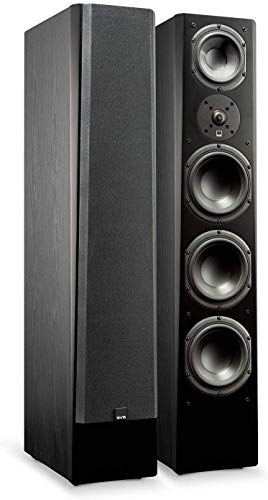 SVS Prime Pinnacle – 3-Way Tower Speaker (Single) - Premium Black Ash