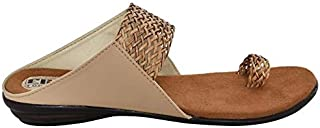 ELITE Women's Dailywear Sandal, Colour : Beige