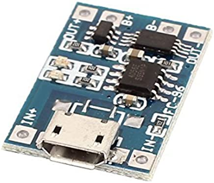 eDealMax Micro USB 1A batería de litio de carga módulo del tablero Con la protección TP4056