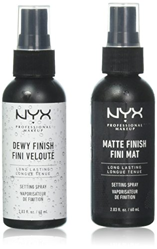 "2 NYX Makeup Setting Spray ""MSS 01+02"" Matte/Dewy Finish (Long Lasting)"