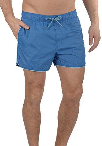Blend Zion Herren Badehose Badeshorts Schwimmshorts mit Kordel, Größe:XL, Farbe:Marine Blue (74635)