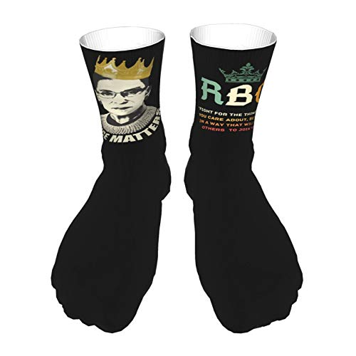 198 Notorious RBG Ruth Bader Ginsburg Novelty Compression Socks for...