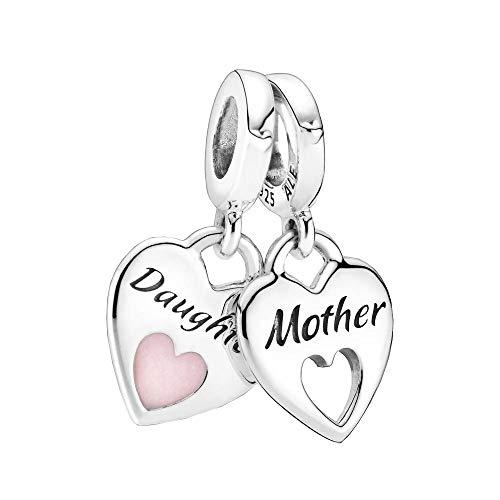 Mother & Daughter Split Heart