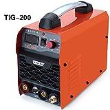 Gomistar 200 amp TIG ARC MMA IGBT DC Saldatrice Stock Inverter Saldatrice Sistema Digitale Display LED 230 V ad alta frequenza Start Welder Welding Saldatrice inverter 200A