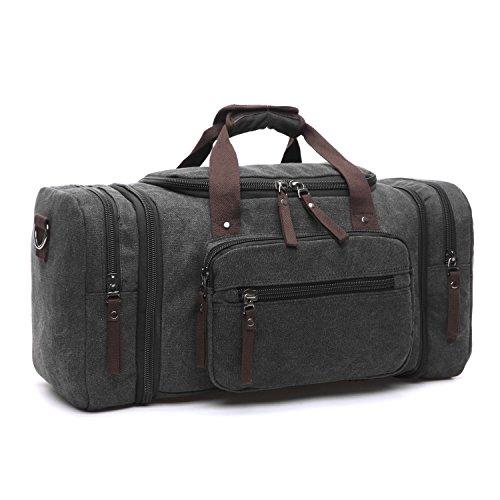 LOSMILE Stora resedufflar, kappsäck resväskor helg väska övernattningsväska handbagage