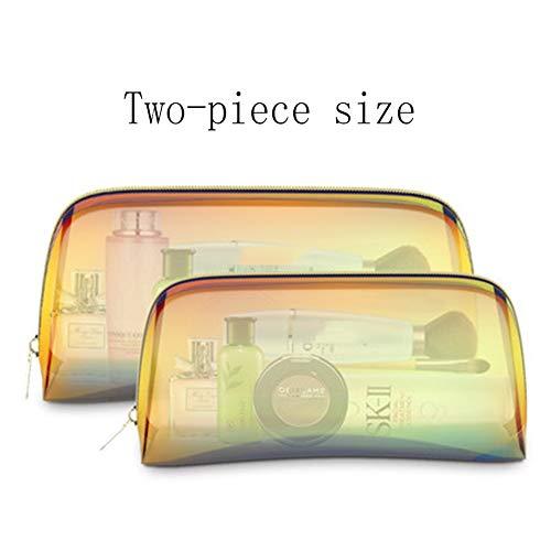Toilettas transparant handbagage vloeistoffen vliegtuig toilettas doorzichtig transparante tas toilettas doorzichtig waszak doorzichtig sizeset
