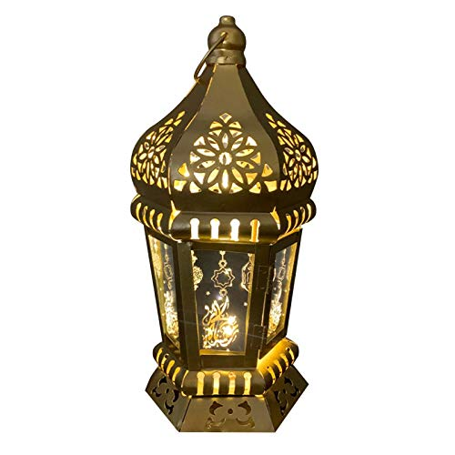 Botiniv Ramadan Lampe Muslimische Islam Eid Mubarak Dekorationen Ramadan Dekoration Arabische Laternen Indoor- Und Outdoor Home Party Ornamente