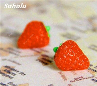 Big Promotion! 1000 Pcs Four Seasons en pot Graines Strawberry Super Sweet Seeds fruits Bonsai plantes Semences Maison et Jardin 4