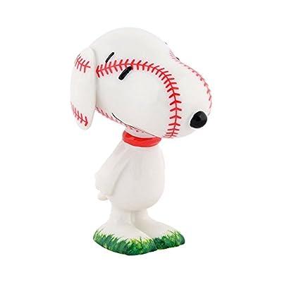Department 56 Peanuts Grand Slam Beagle Figurine, 3 inch (4039753)