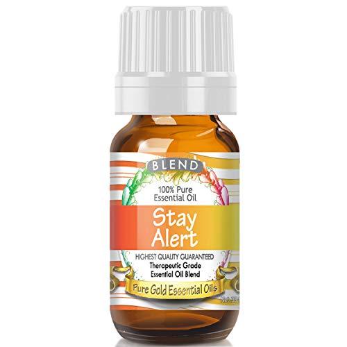 Top 10 Best stay alert essential oil Reviews
