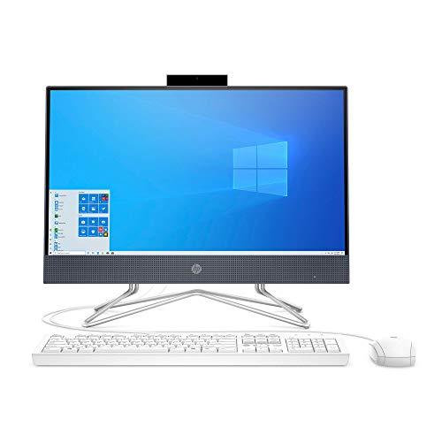 HP 22-DF 21.5-Inch Full HD WLED Intel Celeron G5900T 4GB 256GB SSD Win 10 All-in-One PC (Renewed)