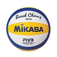 ミカサ(MIKASA) ビーチバレーボール 練習球 (一般・大学・高校・中学)白/黄/青 VXT30